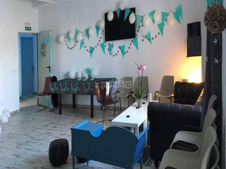 Alquiler de sala para cumpleaños