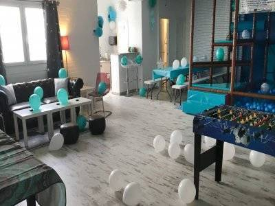 Rental children room and entertainment Pozuelo 3h