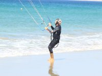 Learning kite control