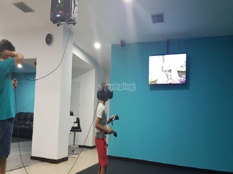 Sala realidad virtual