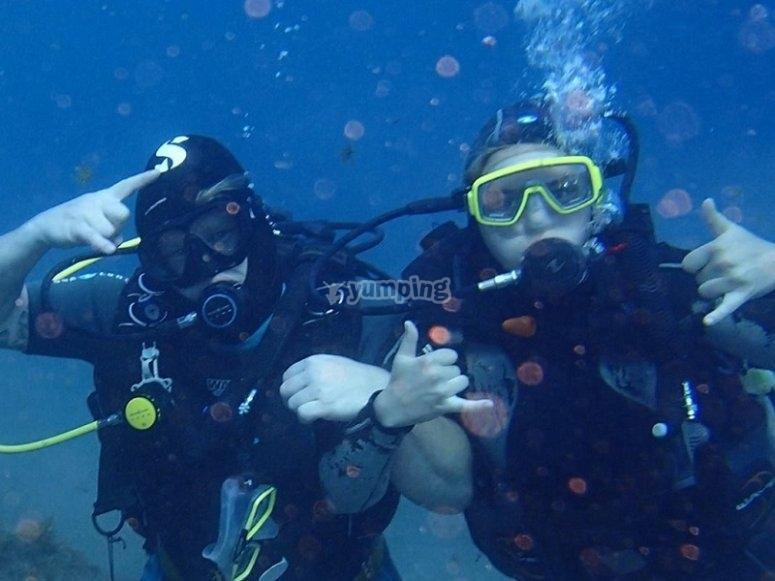 Experiencia de buceo en Taurito