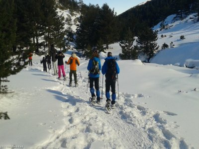 Racchette da neve a Puerto de Cotos, 2 he 30 min