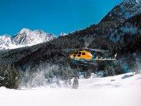Helicopter Panoramic Flight Over Andorra