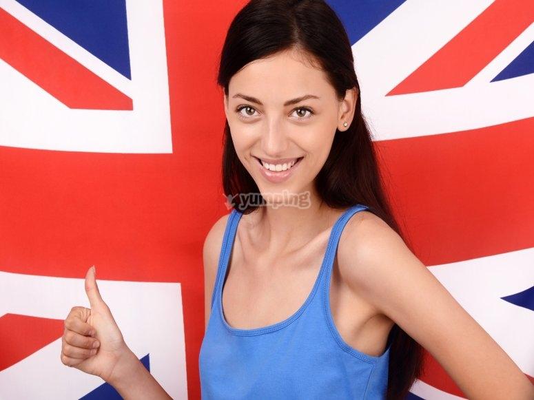 阵营英语在英国