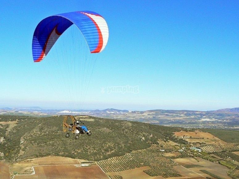 Experiencia de vuelo en paratrike
