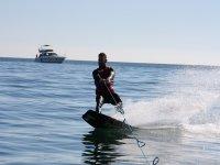 Sesión de wakeboard en Oliva