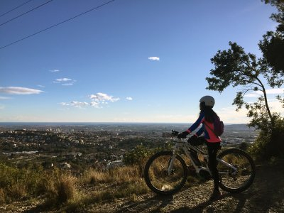 Electric MTB Tour TransCollserola - Medium Level