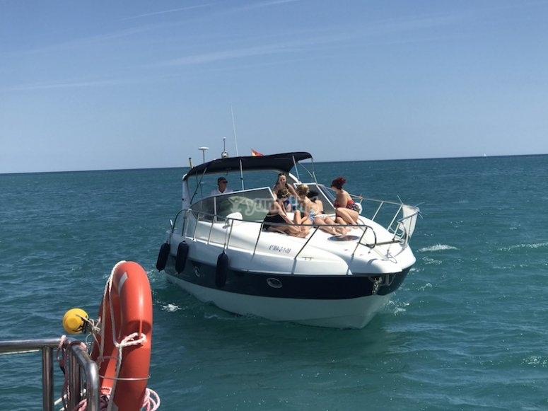 Barca sulla Costa del Sol