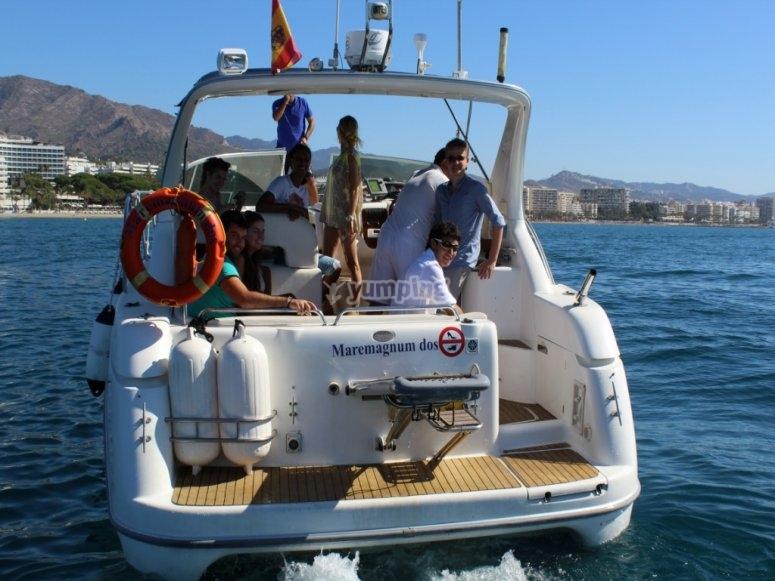 La nostra barca Maremagnum