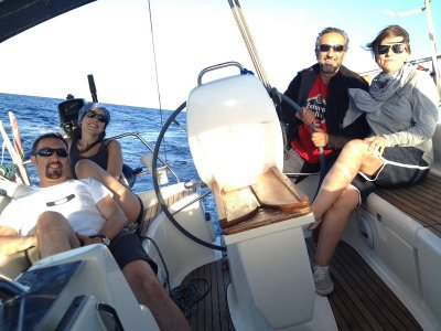 Semana de navegación a vela en Ibiza y Formentera