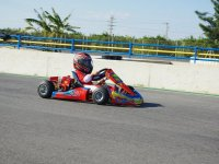 Children karting race