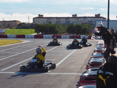 Cumple en karting San Javier y merienda junior
