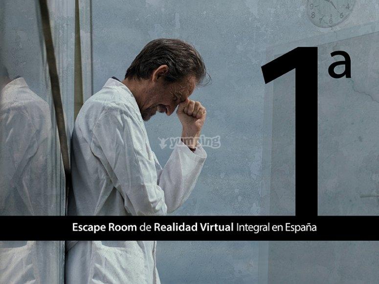 Escape room de realidad virtual