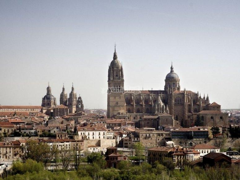 Centro historico de Salamanca