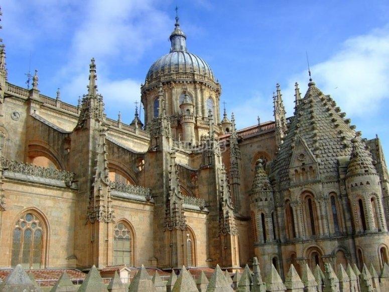 Lateral de la Catedral de Salamanca