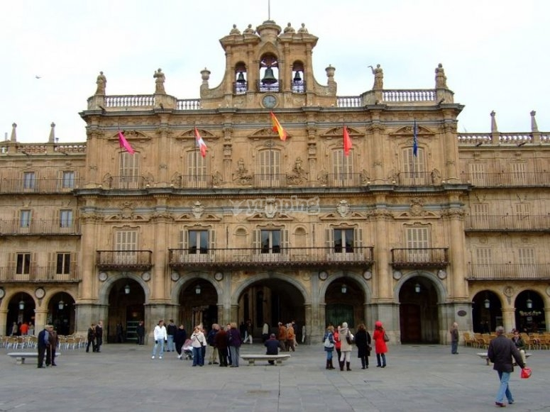Plaza Mayor di Salamanca