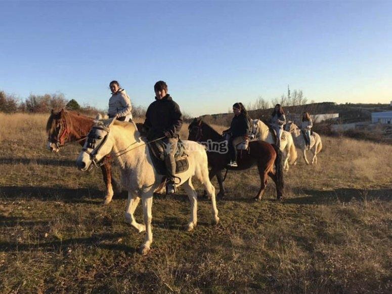 穿越Carbajal的骑马