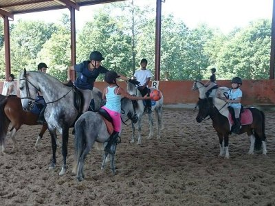 Pony Ride in Villacarriedo for 4 y/o Kids 30m