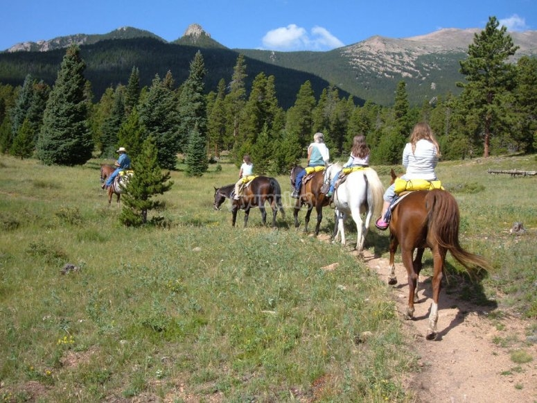 Ruta a caballo Sierra de Meira