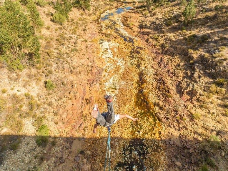 Descubre el puenting en Huelva