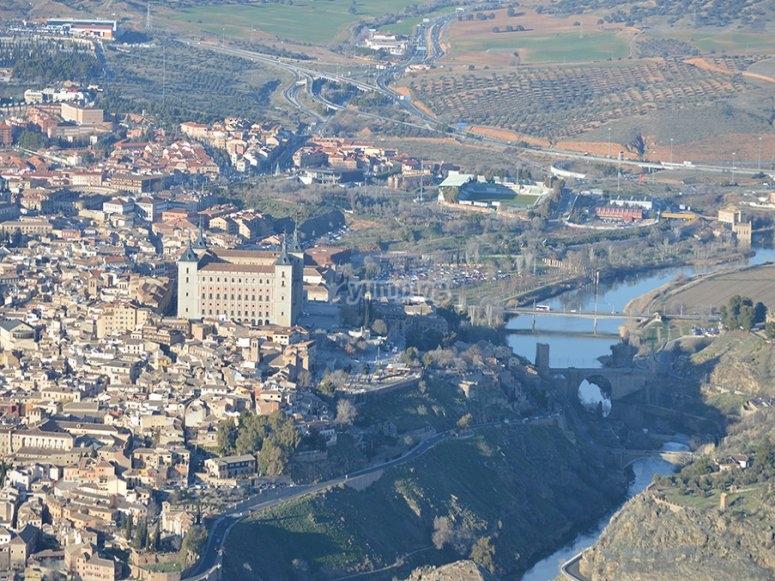 Vistas del Tajo y el Alcázar