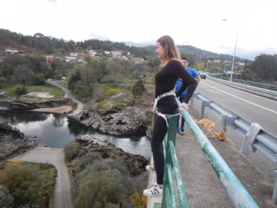 Bungee Jump in the Frierias´ Bridge