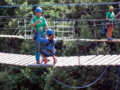 Pack 2 saltos de puenting Vidosa puente tibetano