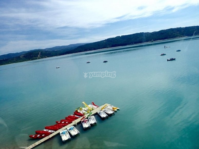Embarcadero del lago