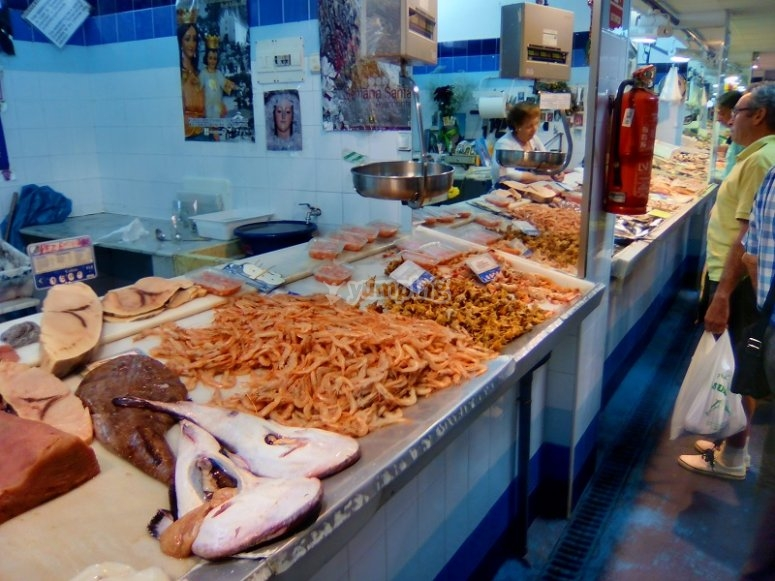 Puesto del Mercado de Ayamonte