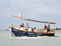 Maniobras de navegacion en la tartana