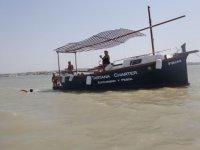 Tartana para turismo y pesca