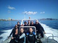 Doble inmersión de buceo Las Palmas Gran Canaria