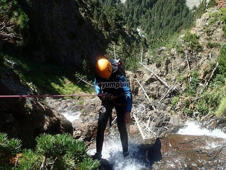 Barranco de iniciacion en Ordesa y Monte Perdido