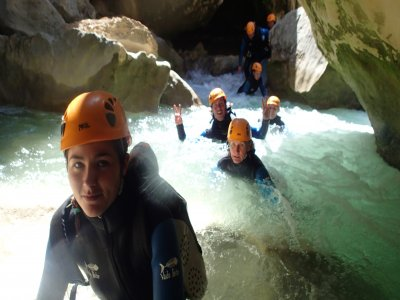 在Ordesa和Monte Perdido开始溪降
