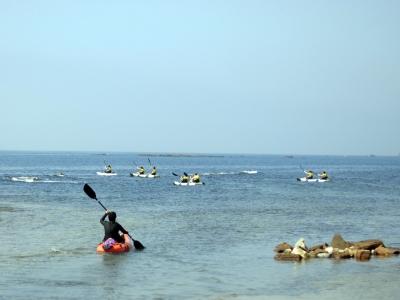 皮划艇路线塔里法海湾沉船和岛屿