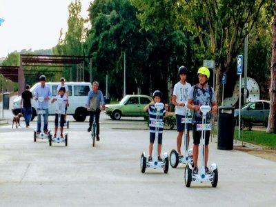 Partenza in segway e bicicletta Castelldefels 2 ore