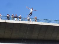 Bungee Jump Over the Miño in Arbo & Photos