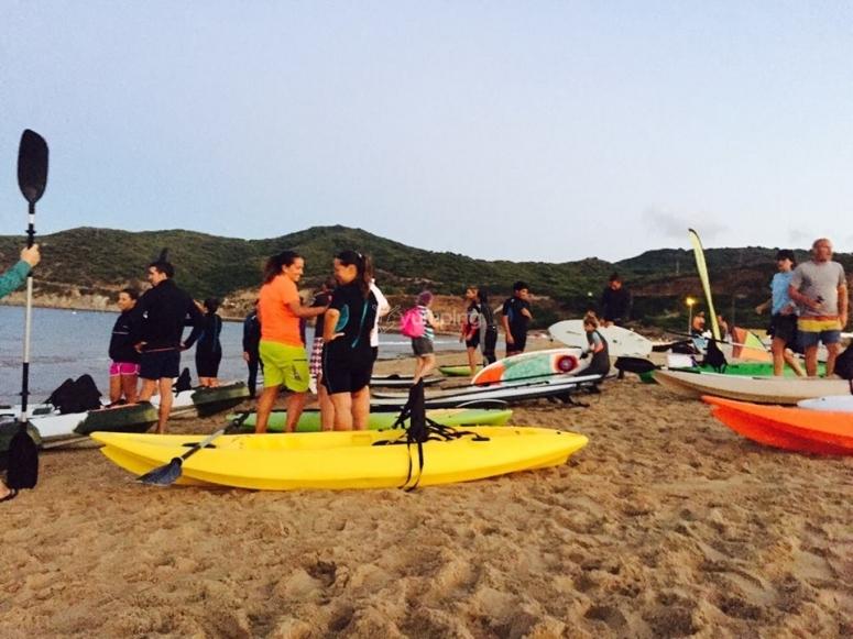 Navegar en kayak en Tarifa