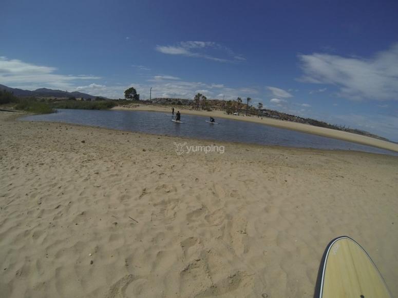 塔里法划桨冲浪活动