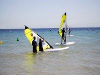 Curso de windsurf en Tarifa iniciación 2 horas