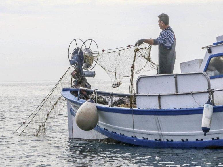 Barca da pesca a Torrevieja