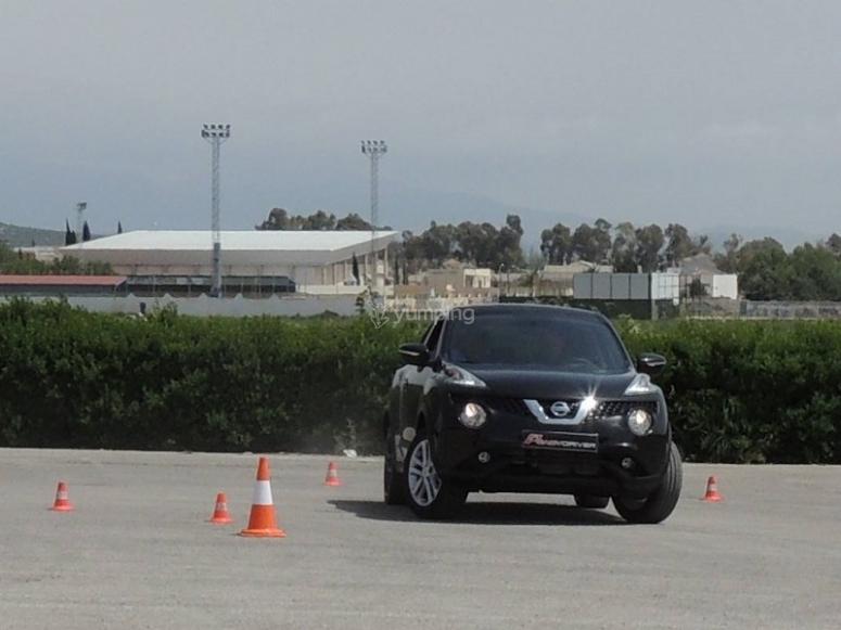 Practicando ejercicios de conduccion