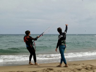 Kitesurf发现课程,l'Estartit海滩
