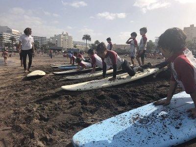 Surf camp en Playa las Américas 3 días no lectivos
