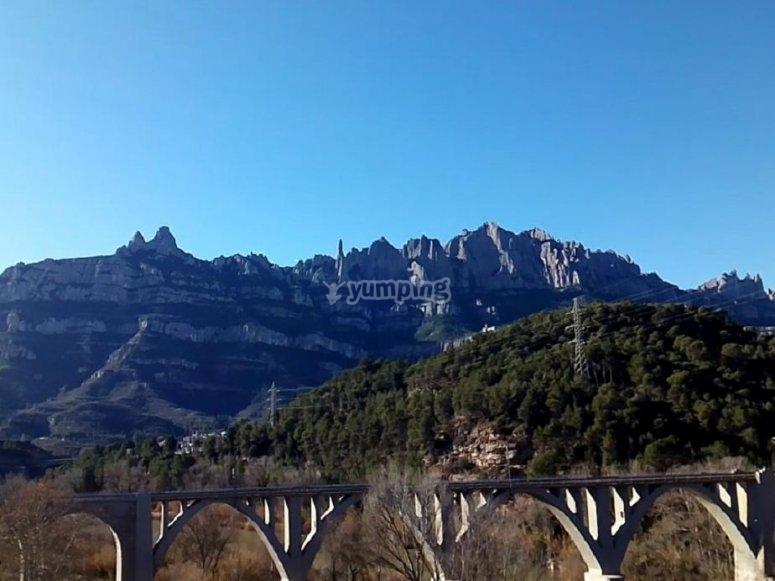 El puente de Montserrat