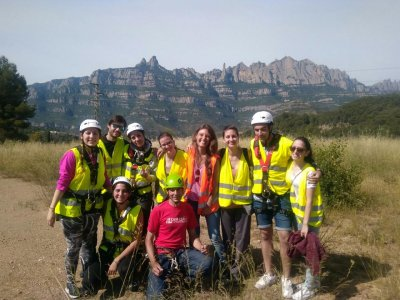 Salto bungee Salto in tandem Montserrat 30 metri