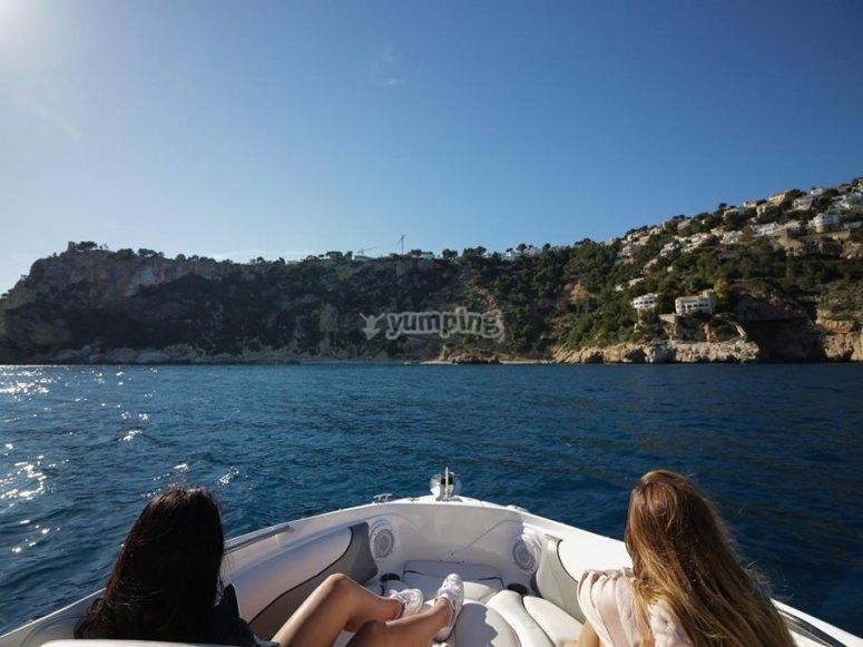 Navegando por Denia