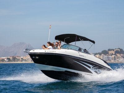 Rinker 246 Motorboat 1-Day Rental in Denia