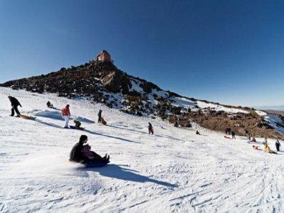 Visita, telecabina y tubbing grupos Sierra Nevada