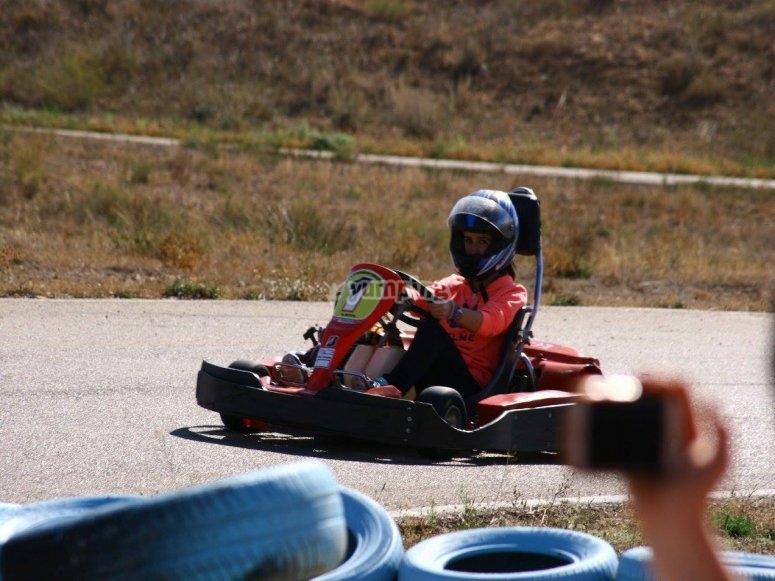 Pilota el kart más potente del mercado